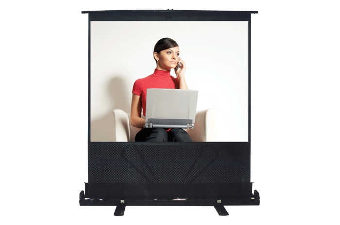 Floor Stand Projection Screens